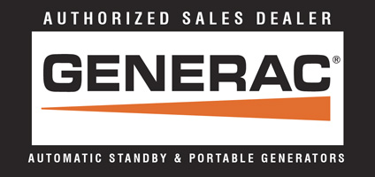 Authorized Sales Dealer for Generac
